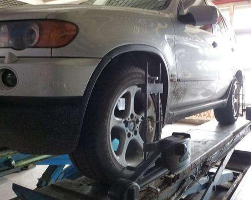车轮动平衡检测