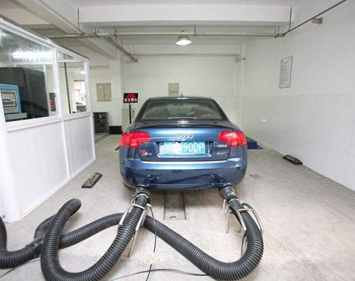 汽车发动机尾气检测